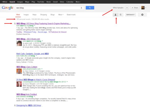 seo blog   Google Search