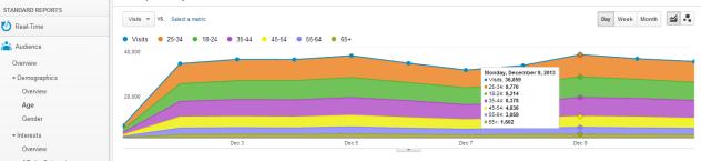 Date demografice in Google Analytics