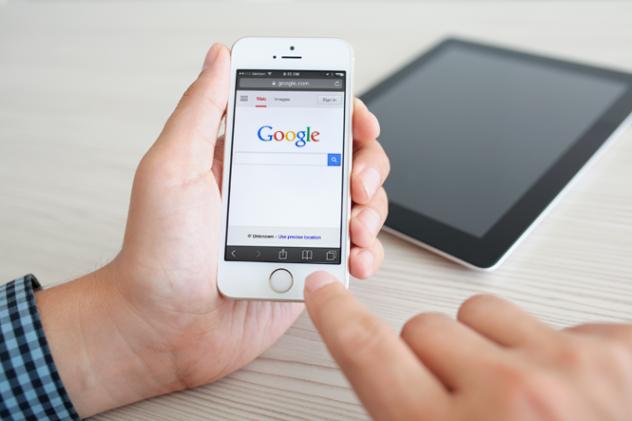 Cautari Google pe mobil